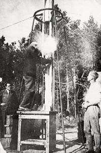 GIRD-09 Launch 1933 Korolev