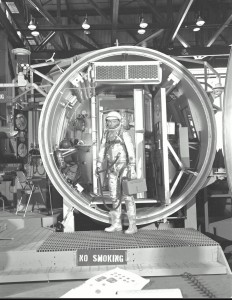 Glenn Altitude Chamber 1961 Hangar S