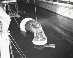Glenn Langley Egress Training 1960