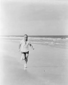 Glenn Running 1962