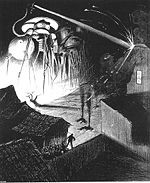 Illustration in War of the Worlds