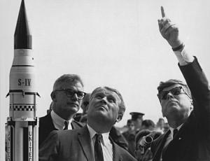 Kennedy and Von Braun