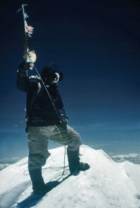 Tenzing Norgay on Summit