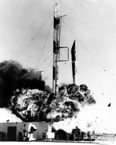 Vangaurd TV3 Explosion