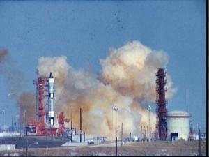 Gemini 6 Launch Pad Abort