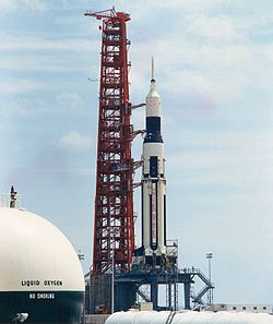 SA-6 on launch pad