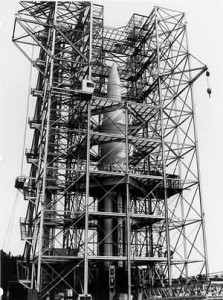 Saturn C-1 062061 Test Stand Marshall