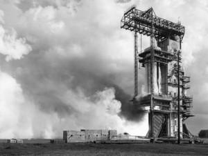 Saturn C-1 static test
