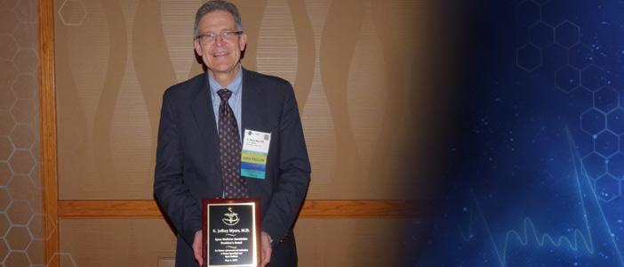 SMA President's Award 2017 - Dr. Jeff Myers