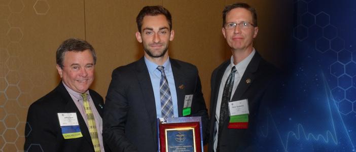 Jeff Davis Scholarship - Michael LaPelusa (In photo - Dr. Jeff Davis; Michael LaPelusa; Steve Vander Ark)